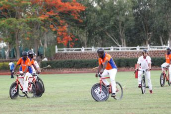Francoise Sananikone Fifth Chukker Polo Bike 36