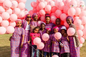 Pink Hope Balloons   Kids Copy