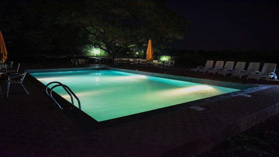 swimming pool fifth chukker