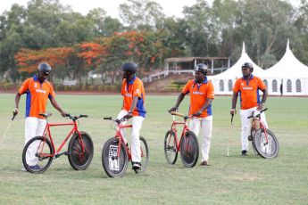Francoise Sananikone Fifth Chukker Polo Bike 44
